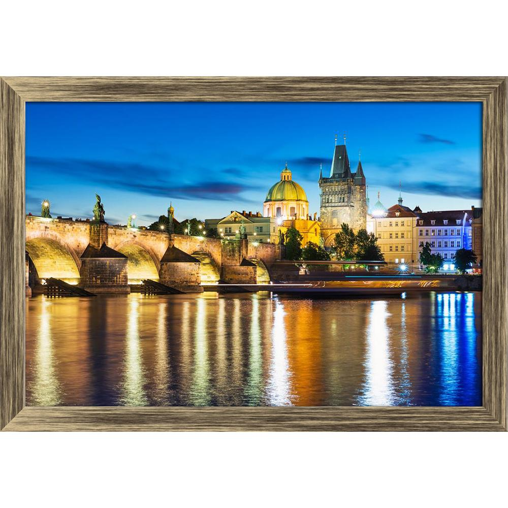 ArtzFolio Vltava River Pier Charles Bridge in Prague Canvas Painting-Paintings Wooden Framing-AZ5006740ART_FR_RF_R-0-Image Code 5006740 Vishnu Image Folio Pvt Ltd, IC 5006740, ArtzFolio, Paintings Wooden Framing, Landscapes, Places, Photography, vltava, river, pier, charles, bridge, in, prague, canvas, painting, framed, print, wall, for, living, room, with, frame, poster, pitaara, box, large, size, drawing, art, split, big, office, reception, of, kids, panel, designer, decorative, amazonbasics, reprint, sma