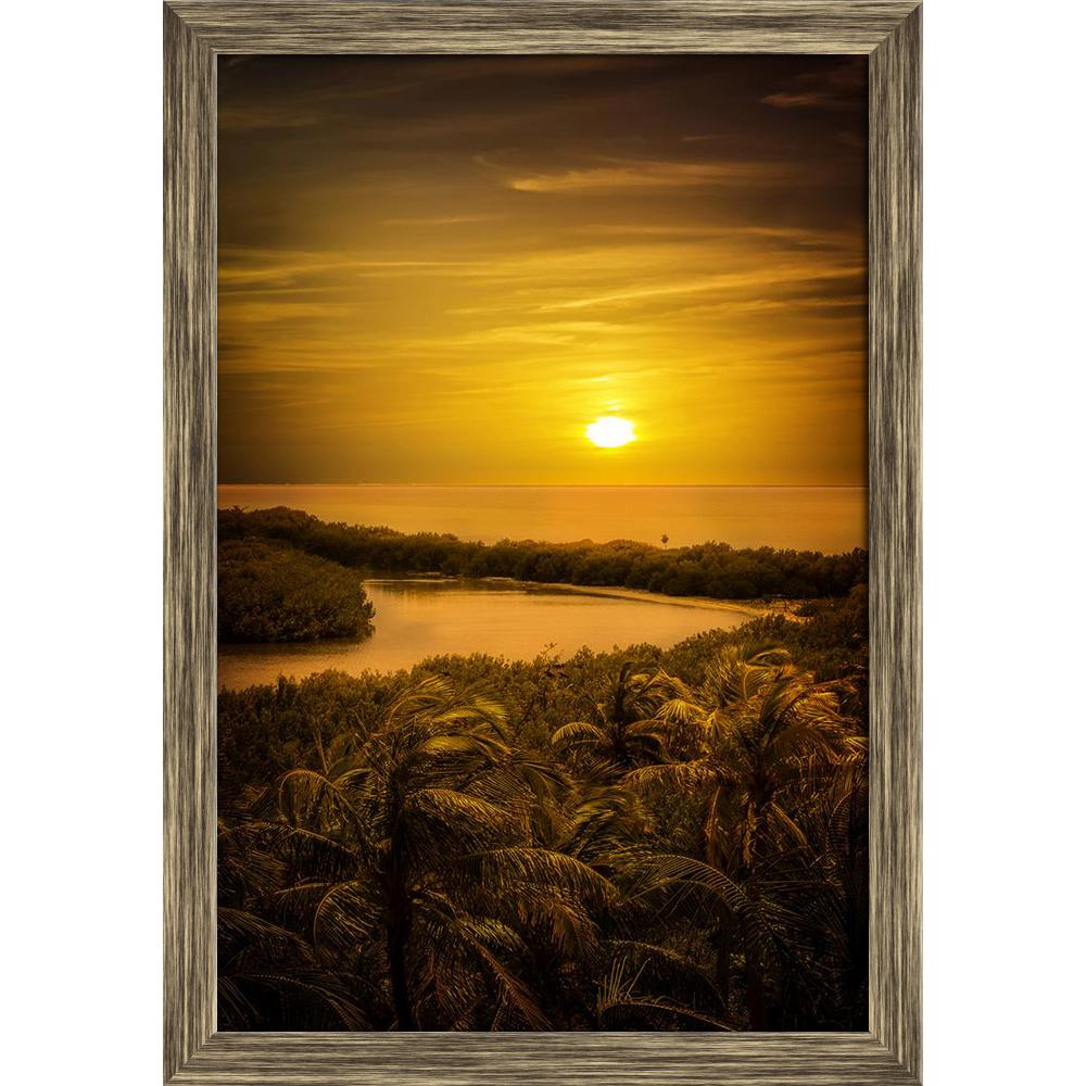 ArtzFolio Gold Caribbean Sunset Over Mexican Contoy Island D1 Canvas Painting-Paintings Wooden Framing-AZ5006743ART_FR_RF_R-0-Image Code 5006743 Vishnu Image Folio Pvt Ltd, IC 5006743, ArtzFolio, Paintings Wooden Framing, Landscapes, Places, Photography, gold, caribbean, sunset, over, mexican, contoy, island, d1, canvas, painting, framed, print, wall, for, living, room, with, frame, poster, pitaara, box, large, size, drawing, art, split, big, office, reception, of, kids, panel, designer, decorative, amazonb