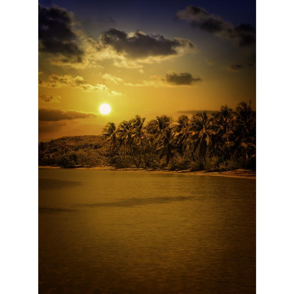 ArtzFolio Gold Caribbean Sunset Over Mexican Contoy Island D2 Unframed Premium Canvas Painting-Paintings Unframed Premium-AZ5006809ART_UN_RF_R-0-Image Code 5006809 Vishnu Image Folio Pvt Ltd, IC 5006809, ArtzFolio, Paintings Unframed Premium, Landscapes, Places, Photography, gold, caribbean, sunset, over, mexican, contoy, island, d2, unframed, premium, canvas, painting, large, size, print, wall, for, living, room, without, frame, decorative, poster, art, pitaara, box, drawing, amazonbasics, big, kids, desig
