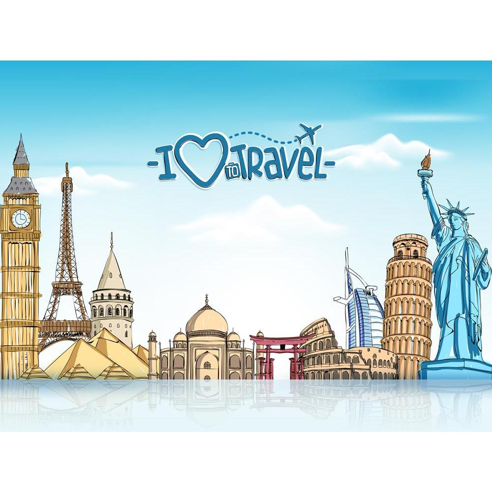 ArtzFolio Travel Tourism Famous World Landmarks Unframed Premium Canvas Painting-Paintings Unframed Premium-AZ5006845ART_UN_RF_R-0-Image Code 5006845 Vishnu Image Folio Pvt Ltd, IC 5006845, ArtzFolio, Paintings Unframed Premium, Places, Quotes, Digital Art, travel, tourism, famous, world, landmarks, unframed, premium, canvas, painting, large, size, print, wall, for, living, room, without, frame, decorative, poster, art, pitaara, box, drawing, photography, amazonbasics, big, kids, designer, office, reception