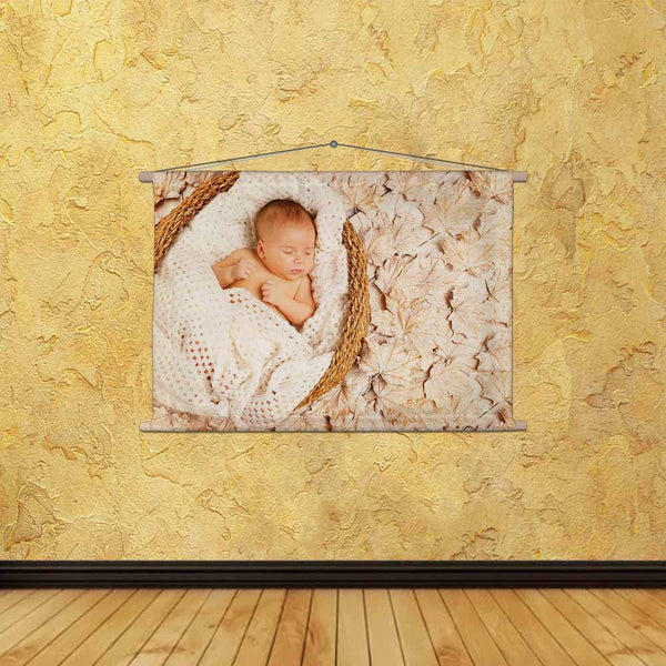 ArtzFolio Studio Photo Portrait of New Born Kid D2 Fabric Painting Tapestry Scroll Art Hanging-Scroll Art-AZ5006846TAP_RF_R-0-Image Code 5006846 Vishnu Image Folio Pvt Ltd, IC 5006846, ArtzFolio, Scroll Art, Kids, Photography, studio, photo, portrait, of, new, born, kid, d2, canvas, fabric, painting, tapestry, scroll, art, hanging, baby, autumn, newborn, sleep, leaves, asleep, decorated, background, one, month, artistic, basket, beautiful, birth, boy, child, close, up, day, decor, down, dream, face, fall, f
