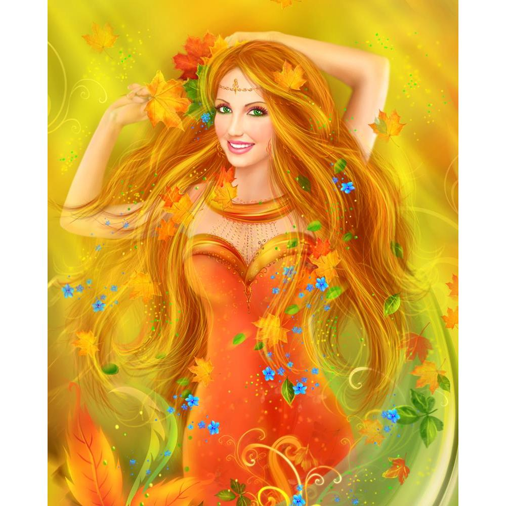 ArtzFolio Fantasy Fashion Portrait of Fairy Woman in Autumn Unframed Premium Canvas Painting-Paintings Unframed Premium-AZ5006857ART_UN_RF_R-0-Image Code 5006857 Vishnu Image Folio Pvt Ltd, IC 5006857, ArtzFolio, Paintings Unframed Premium, Fantasy, Figurative, Digital Art, fashion, portrait, of, fairy, woman, in, autumn, unframed, premium, canvas, painting, large, size, print, wall, for, living, room, without, frame, decorative, poster, art, pitaara, box, drawing, photography, amazonbasics, big, kids, desi