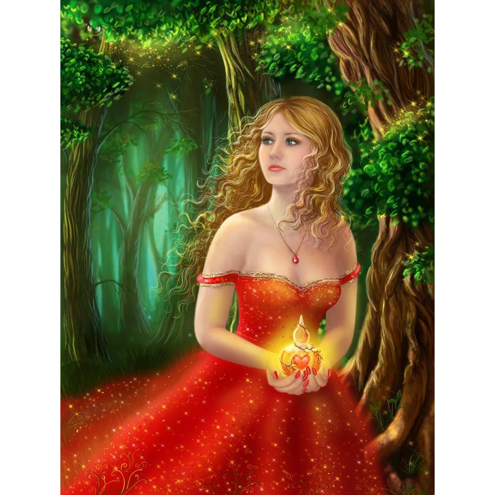 ArtzFolio Fantasy Woman In Red Dress Unframed Premium Canvas Painting-Paintings Unframed Premium-AZ5006909ART_UN_RF_R-0-Image Code 5006909 Vishnu Image Folio Pvt Ltd, IC 5006909, ArtzFolio, Paintings Unframed Premium, Fantasy, Figurative, Digital Art, woman, in, red, dress, unframed, premium, canvas, painting, large, size, print, wall, for, living, room, without, frame, decorative, poster, art, pitaara, box, drawing, photography, amazonbasics, big, kids, designer, office, reception, reprint, bedroom, panel,