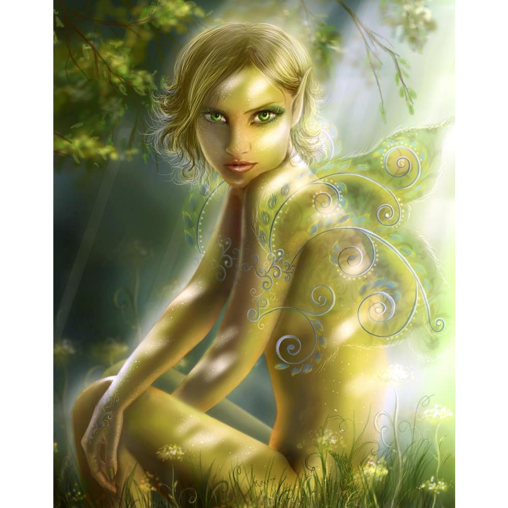 ArtzFolio Portrait of Green Fairy Fantasy Unframed Premium Canvas Painting-Paintings Unframed Premium-AZ5006910ART_UN_RF_R-0-Image Code 5006910 Vishnu Image Folio Pvt Ltd, IC 5006910, ArtzFolio, Paintings Unframed Premium, Fantasy, Figurative, Digital Art, portrait, of, green, fairy, unframed, premium, canvas, painting, large, size, print, wall, for, living, room, without, frame, decorative, poster, art, pitaara, box, drawing, photography, amazonbasics, big, kids, designer, office, reception, reprint, bedro