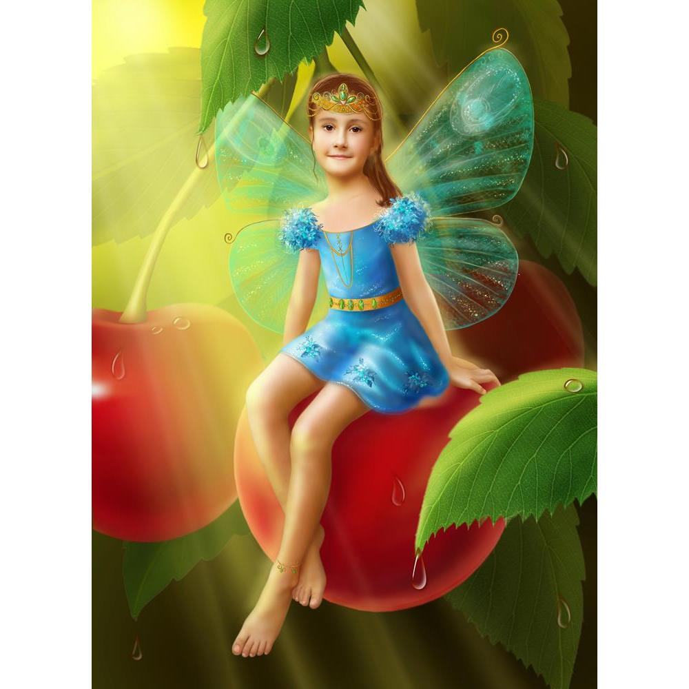 ArtzFolio Fantasy Little Fairy The Girl Butterfly On Cherry Unframed Premium Canvas Painting-Paintings Unframed Premium-AZ5006912ART_UN_RF_R-0-Image Code 5006912 Vishnu Image Folio Pvt Ltd, IC 5006912, ArtzFolio, Paintings Unframed Premium, Fantasy, Kids, Digital Art, little, fairy, the, girl, butterfly, on, cherry, unframed, premium, canvas, painting, large, size, print, wall, for, living, room, without, frame, decorative, poster, art, pitaara, box, drawing, photography, amazonbasics, big, designer, office
