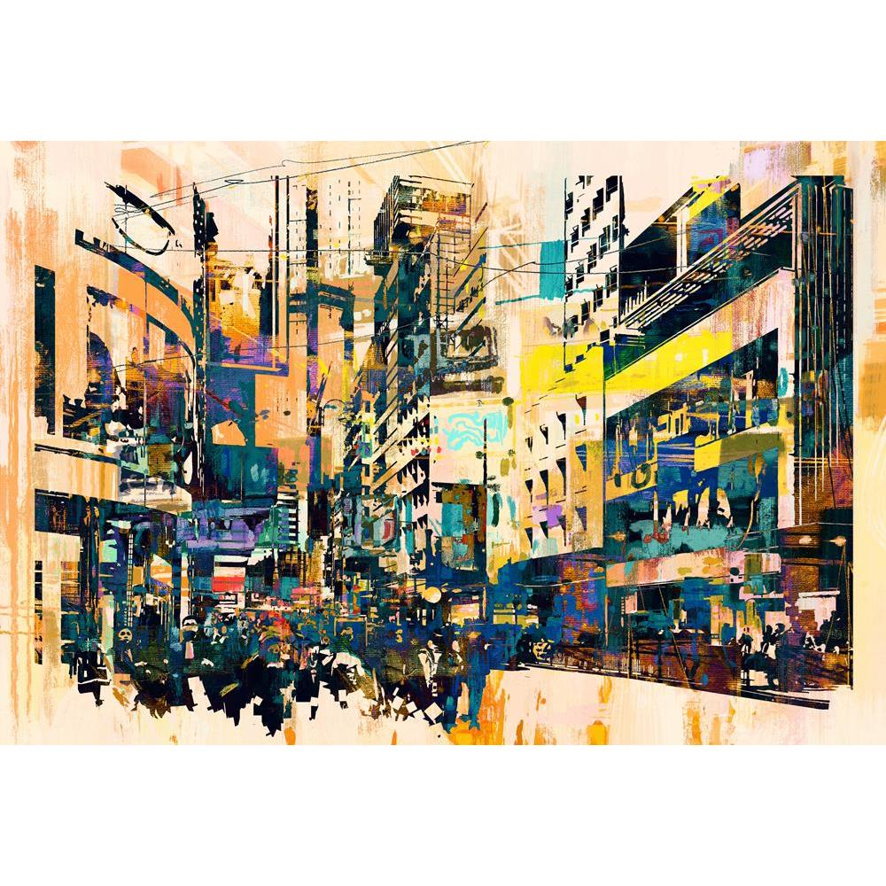 ArtzFolio Abstract Art Of Cityscape Unframed Premium Canvas Painting-Paintings Unframed Premium-AZ5006978ART_UN_RF_R-0-Image Code 5006978 Vishnu Image Folio Pvt Ltd, IC 5006978, ArtzFolio, Paintings Unframed Premium, Places, Fine Art Reprint, abstract, art, of, cityscape, unframed, premium, canvas, painting, large, size, print, wall, for, living, room, without, frame, decorative, poster, pitaara, box, drawing, photography, amazonbasics, big, kids, designer, office, reception, reprint, bedroom, panel, panels