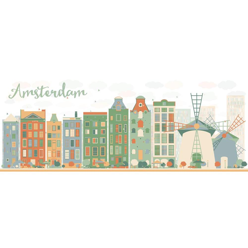 ArtzFolio Abstract Amsterdam City Skyline, The Netherlands Unframed Premium Canvas Painting-Paintings Unframed Premium-AZ5006980ART_UN_RF_R-0-Image Code 5006980 Vishnu Image Folio Pvt Ltd, IC 5006980, ArtzFolio, Paintings Unframed Premium, Places, Digital Art, abstract, amsterdam, city, skyline, the, netherlands, unframed, premium, canvas, painting, large, size, print, wall, for, living, room, without, frame, decorative, poster, art, pitaara, box, drawing, photography, amazonbasics, big, kids, designer, off