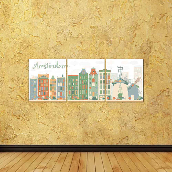 ArtzFolio Abstract Amsterdam City Skyline, The Netherlands Split Art Painting Panel on Sunboard-Split Art Panels-AZ5006980SPL_FR_RF_R-0-Image Code 5006980 Vishnu Image Folio Pvt Ltd, IC 5006980, ArtzFolio, Split Art Panels, Places, Digital Art, abstract, amsterdam, city, skyline, the, netherlands, split, art, painting, panel, on, sunboard, framed, canvas, print, wall, for, living, room, with, frame, poster, pitaara, box, large, size, drawing, big, office, reception, photography, of, kids, designer, decorati