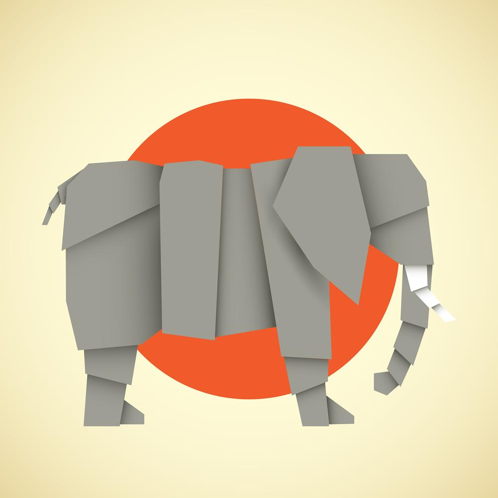 ArtzFolio Origami Elephant Unframed Premium Canvas Painting-Paintings Unframed Premium-AZ5007001ART_UN_RF_R-0-Image Code 5007001 Vishnu Image Folio Pvt Ltd, IC 5007001, ArtzFolio, Paintings Unframed Premium, Animals, Kids, Digital Art, origami, elephant, unframed, premium, canvas, painting, large, size, print, wall, for, living, room, without, frame, decorative, poster, art, pitaara, box, drawing, photography, amazonbasics, big, designer, office, reception, reprint, bedroom, panel, panels, on, scenery, pain