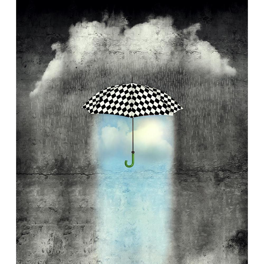 ArtzFolio Surreal Image of a Checkered Umbrella Unframed Premium Canvas Painting-Paintings Unframed Premium-AZ5007077ART_UN_RF_R-0-Image Code 5007077 Vishnu Image Folio Pvt Ltd, IC 5007077, ArtzFolio, Paintings Unframed Premium, Conceptual, Digital Art, surreal, image, of, a, checkered, umbrella, unframed, premium, canvas, painting, large, size, print, wall, for, living, room, without, frame, decorative, poster, art, pitaara, box, drawing, photography, amazonbasics, big, kids, designer, office, reception, r