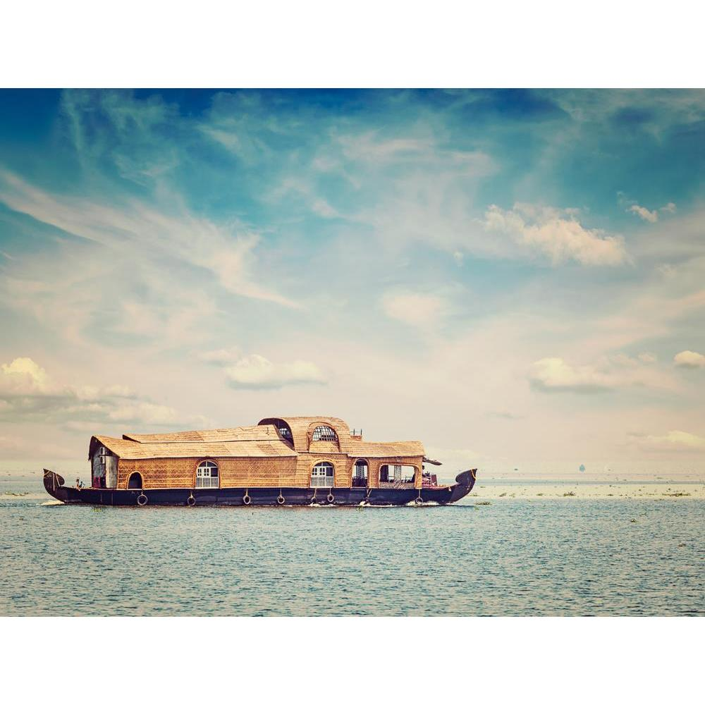 ArtzFolio Houseboat In Vembanadu Lake, Kerala, India Unframed Premium Canvas Painting-Paintings Unframed Premium-AZ5007128ART_UN_RF_R-0-Image Code 5007128 Vishnu Image Folio Pvt Ltd, IC 5007128, ArtzFolio, Paintings Unframed Premium, Landscapes, Places, Photography, houseboat, in, vembanadu, lake, kerala, india, unframed, premium, canvas, painting, large, size, print, wall, for, living, room, without, frame, decorative, poster, art, pitaara, box, drawing, amazonbasics, big, kids, designer, office, reception
