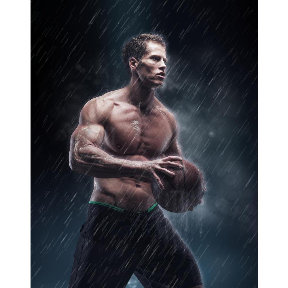 ArtzFolio Portrait of Shirtless Wet Basketball Player D1 Unframed Premium Canvas Painting-Paintings Unframed Premium-AZ5007174ART_UN_RF_R-0-Image Code 5007174 Vishnu Image Folio Pvt Ltd, IC 5007174, ArtzFolio, Paintings Unframed Premium, Figurative, Sports, Photography, portrait, of, shirtless, wet, basketball, player, d1, unframed, premium, canvas, painting, large, size, print, wall, for, living, room, without, frame, decorative, poster, art, pitaara, box, drawing, amazonbasics, big, kids, designer, office