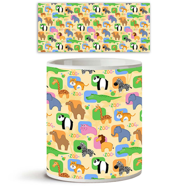 ArtzFolio African Animals Ceramic Coffee Tea Mug Inside White-Coffee Mugs-AZKIT9572574MUG_L-Image Code 5007209 Vishnu Image Folio Pvt Ltd, IC 5007209, ArtzFolio, Coffee Mugs, Animals, Kids, Digital Art, african, ceramic, coffee, tea, mug, inside, white, funny, seamless, background, coffee mugs with logo, promotional mugs, bulk coffee mug, office mugs, amazonbasics, custom coffee mugs, custom ceramic mugs, 11ounce ceramic coffee mug, coffee cup gift, tea mug, promotional coffee mugs, custom printed mugs, 11