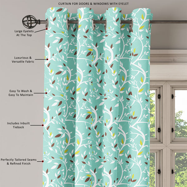 ArtzFolio Branches Door, Window & Room Curtain-Room Curtains-AZ5007218CUR_RM_RF_R-SP-Image Code 5007218 Vishnu Image Folio Pvt Ltd, IC 5007218, ArtzFolio, Room Curtains, Floral, Digital Art, branches, door, window, room, curtain, eyelets, tie, back, silk, fabric, width, 3feet, (36inch), vector, seamless, pattern, room curtain, valance curtain, bedroom drapes, drapes valance, wall curtain, office curtain, grommet curtain, kitchen curtain, pitaara box, window curtain, blackout drape, grommet drapes, window pa