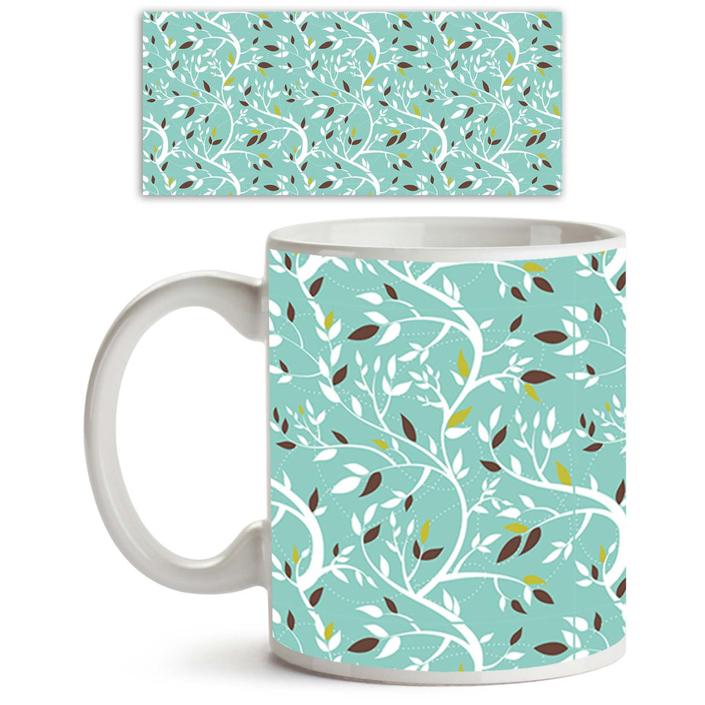 ArtzFolio Branches Ceramic Coffee Tea Mug Inside White-Coffee Mugs-AZKIT10937238MUG_L-Image Code 5007218 Vishnu Image Folio Pvt Ltd, IC 5007218, ArtzFolio, Coffee Mugs, Floral, Digital Art, branches, ceramic, coffee, tea, mug, inside, white, vector, seamless, pattern, coffee mugs with logo, promotional mugs, bulk coffee mug, office mugs, amazonbasics, custom coffee mugs, custom ceramic mugs, 11ounce ceramic coffee mug, coffee cup gift, tea mug, promotional coffee mugs, custom printed mugs, 11 oz coffee mug,