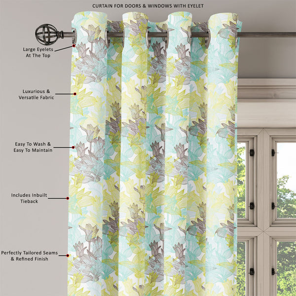 ArtzFolio Tulip Flowers D1 Door, Window & Room Curtain-Room Curtains-AZ5007249CUR_RM_RF_R-SP-Image Code 5007249 Vishnu Image Folio Pvt Ltd, IC 5007249, ArtzFolio, Room Curtains, Floral, Digital Art, tulip, flowers, d1, door, window, room, curtain, eyelets, tie, back, silk, fabric, width, 3feet, (36inch), elegant, seamless, pattern, abstract, design, room curtain, valance curtain, bedroom drapes, drapes valance, wall curtain, office curtain, grommet curtain, kitchen curtain, pitaara box, window curtain, blac