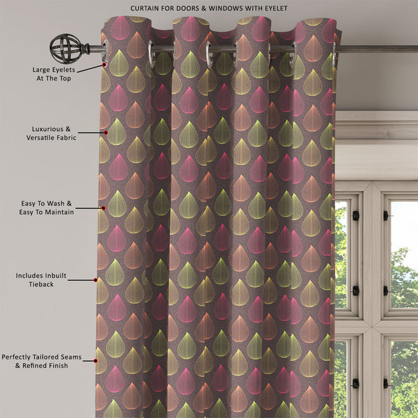 ArtzFolio Colors Curls Door, Window & Room Curtain-Room Curtains-AZ5007260CUR_RM_RF_R-SP-Image Code 5007260 Vishnu Image Folio Pvt Ltd, IC 5007260, ArtzFolio, Room Curtains, Abstract, Traditional, Digital Art, colors, curls, door, window, room, curtain, eyelets, tie, back, silk, fabric, width, 3feet, (36inch), seamless, pattern, leaves, bright, gray, background, room curtain, valance curtain, bedroom drapes, drapes valance, wall curtain, office curtain, grommet curtain, kitchen curtain, pitaara box, window