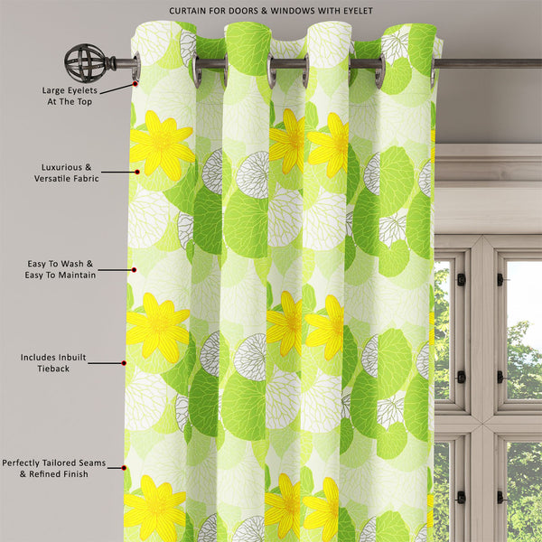 ArtzFolio Green Leaves Door, Window & Room Curtain-Room Curtains-AZ5007305CUR_RM_RF_R-SP-Image Code 5007305 Vishnu Image Folio Pvt Ltd, IC 5007305, ArtzFolio, Room Curtains, Floral, Digital Art, green, leaves, door, window, room, curtain, eyelets, tie, back, silk, fabric, width, 3feet, (36inch), fresh, background, illustration, room curtain, valance curtain, bedroom drapes, drapes valance, wall curtain, office curtain, grommet curtain, kitchen curtain, pitaara box, window curtain, blackout drape, grommet dr