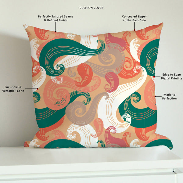 ArtzFolio Colorful Wave Cushion Cover Throw Pillow-Cushion Covers-AZHFR17700066CUS_CV_L-Image Code 5007340 Vishnu Image Folio Pvt Ltd, IC 5007340, ArtzFolio, Cushion Covers, Abstract, Digital Art, colorful, wave, cushion, cover, throw, pillow, canvas, fabric, seamless, pattern, sofa throws, single throw pillow, zippered throw pillow cover, satin pillow cover, throw pillow, cushion cover only, cushion cover, pillow cover for sofa, pitaara box, throw cushion, kids cushion cover, square cushion cover, throw pi