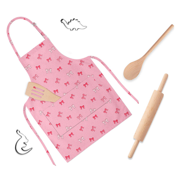 ArtzFolio Pink Bows Apron | Adjustable, Free Size & Waist Tiebacks-Aprons Neck to Knee-AZ5007345APR_RF_R-SP-Image Code 5007345 Vishnu Image Folio Pvt Ltd, IC 5007345, ArtzFolio, Aprons Neck to Knee, Love, Kids, Digital Art, pink, bows, full-length, apron, poly-cotton, fabric, adjustable, neck, buckle, waist, tiebacks, seamless, pattern, color, childrens aprons, waterproof kitchen apron, baking apron, full apron, kitchen apron, cotton apron, bib apron, housekeeping apron, kids chef apron, kids apron, masterc