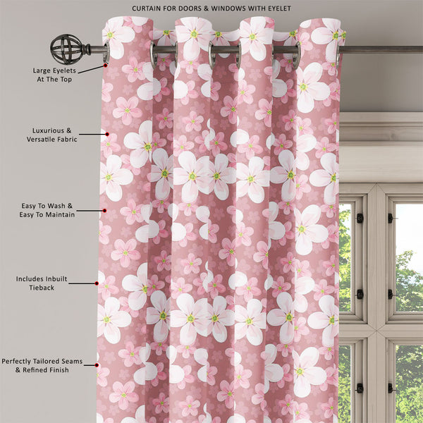 ArtzFolio Cherry Blossoms D1 Door, Window & Room Curtain-Room Curtains-AZ5007354CUR_RM_RF_R-SP-Image Code 5007354 Vishnu Image Folio Pvt Ltd, IC 5007354, ArtzFolio, Room Curtains, Floral, Digital Art, cherry, blossoms, d1, door, window, room, curtain, eyelets, tie, back, silk, fabric, width, 3feet, (36inch), seamless, background, room curtain, valance curtain, bedroom drapes, drapes valance, wall curtain, office curtain, grommet curtain, kitchen curtain, pitaara box, window curtain, blackout drape, grommet