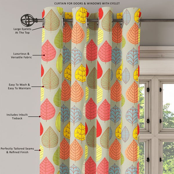 ArtzFolio Leaf Art D4 Door, Window & Room Curtain-Room Curtains-AZ5007413CUR_RM_RF_R-SP-Image Code 5007413 Vishnu Image Folio Pvt Ltd, IC 5007413, ArtzFolio, Room Curtains, Floral, Kids, Digital Art, leaf, art, d4, door, window, room, curtain, eyelets, tie, back, silk, fabric, width, 3feet, (36inch), seamless, pattern, abstract, texture, endless, backgroundseamless, wallpaper, fills, web, page, background, surface, textures, room curtain, valance curtain, bedroom drapes, drapes valance, wall curtain, office