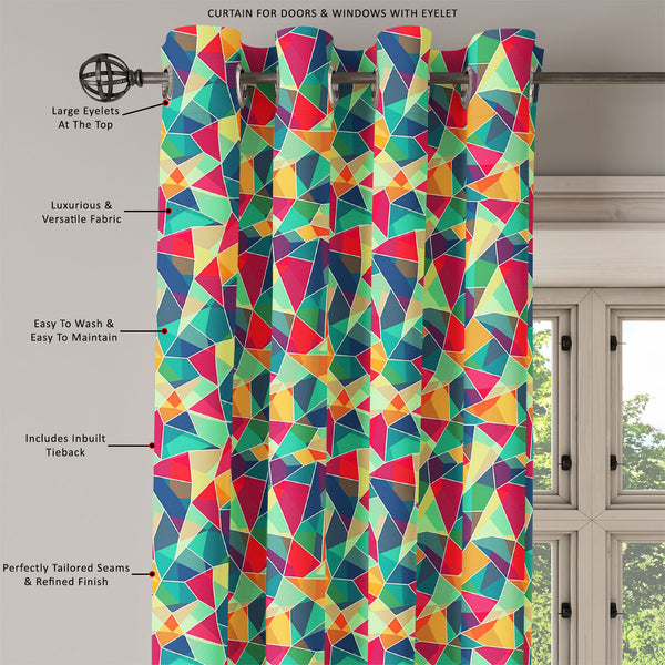 ArtzFolio Mosaic D1 Door, Window & Room Curtain-Room Curtains-AZ5007423CUR_RM_RF_R-SP-Image Code 5007423 Vishnu Image Folio Pvt Ltd, IC 5007423, ArtzFolio, Room Curtains, Abstract, Digital Art, mosaic, d1, door, window, room, curtain, eyelets, tie, back, silk, fabric, width, 3feet, (36inch), colored, seamless, pattern, room curtain, valance curtain, bedroom drapes, drapes valance, wall curtain, office curtain, grommet curtain, kitchen curtain, pitaara box, window curtain, blackout drape, grommet drapes, win