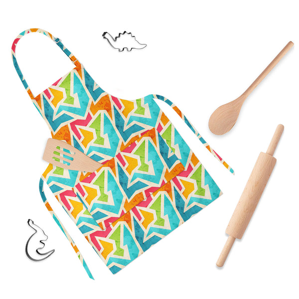 ArtzFolio Geometric D1 Apron | Adjustable, Free Size & Waist Tiebacks-Aprons Neck to Knee-AZ5007426APR_RF_R-SP-Image Code 5007426 Vishnu Image Folio Pvt Ltd, IC 5007426, ArtzFolio, Aprons Neck to Knee, Abstract, Digital Art, geometric, d1, full-length, apron, poly-cotton, fabric, adjustable, neck, buckle, waist, tiebacks, seamless, pattern, grunge, effect, childrens aprons, waterproof kitchen apron, baking apron, full apron, kitchen apron, cotton apron, bib apron, housekeeping apron, kids chef apron, kids a