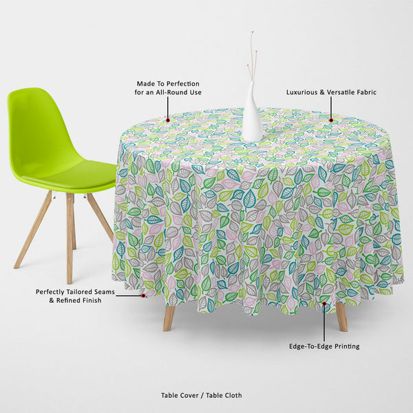ArtzFolio Summer Leaf Table Cloth Cover-Table Covers-AZ5007456CVR_TB_RF_R-SP-Image Code 5007456 Vishnu Image Folio Pvt Ltd, IC 5007456, ArtzFolio, Table Covers, Floral, Digital Art, summer, leaf, table, cloth, cover, canvas, fabric, seamless, pattern, table cover, center table cover, teapoy cover, checkered tablecloth, restaurant tablecloth, tablecloth, dining table cover 6 seater, linen tablecloth, fitted tablecloths, velvet tablecloth, dining table cover, dining table cover plastic, square tablecloth, ova
