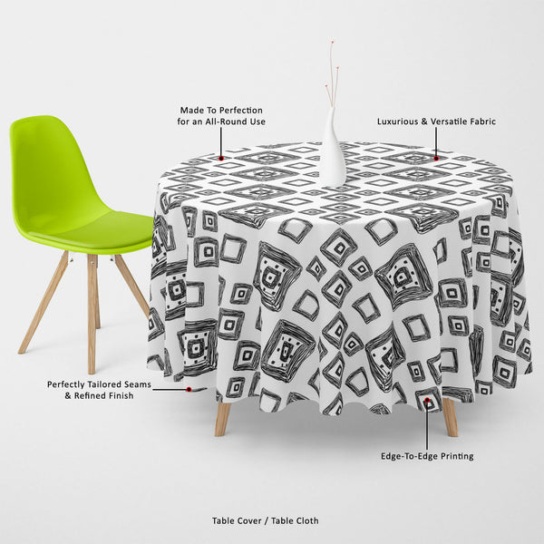 ArtzFolio Geometric Art D1 Table Cloth Cover-Table Covers-AZ5007517CVR_TB_RF_R-SP-Image Code 5007517 Vishnu Image Folio Pvt Ltd, IC 5007517, ArtzFolio, Table Covers, Abstract, Traditional, Digital Art, geometric, art, d1, table, cloth, cover, canvas, fabric, seamless, hand, drawn, pattern, vector, illustration, table cover, center table cover, teapoy cover, checkered tablecloth, restaurant tablecloth, tablecloth, dining table cover 6 seater, linen tablecloth, fitted tablecloths, velvet tablecloth, dining ta