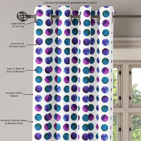 ArtzFolio Gradient Circles Door, Window & Room Curtain-Room Curtains-AZ5007523CUR_RM_RF_R-SP-Image Code 5007523 Vishnu Image Folio Pvt Ltd, IC 5007523, ArtzFolio, Room Curtains, Abstract, Digital Art, gradient, circles, door, window, room, curtain, eyelets, tie, back, silk, fabric, width, 3feet, (36inch), vector, geometric, watercolor, pattern, vibrant, colorful, room curtain, valance curtain, bedroom drapes, drapes valance, wall curtain, office curtain, grommet curtain, kitchen curtain, pitaara box, window