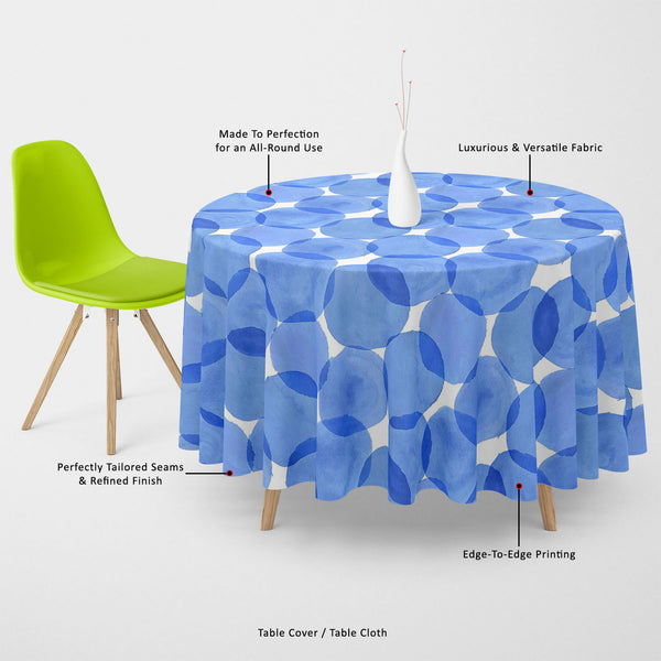 ArtzFolio Watercolor Blue Circles Table Cloth Cover-Table Covers-AZ5007555CVR_TB_RF_R-SP-Image Code 5007555 Vishnu Image Folio Pvt Ltd, IC 5007555, ArtzFolio, Table Covers, Abstract, Digital Art, watercolor, blue, circles, table, cloth, cover, canvas, fabric, background, web, illustration, made, vector, table cover, center table cover, teapoy cover, checkered tablecloth, restaurant tablecloth, tablecloth, dining table cover 6 seater, linen tablecloth, fitted tablecloths, velvet tablecloth, dining table cove