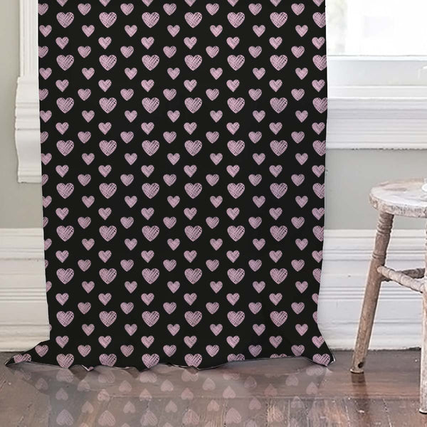 ArtzFolio Blissful Hearts Door, Window & Room Curtain-Room Curtains-AZ5007604CUR_RM_RF_R-SP-Image Code 5007604 Vishnu Image Folio Pvt Ltd, IC 5007604, ArtzFolio, Room Curtains, Love, Kids, Digital Art, blissful, hearts, door, window, room, curtain, rod, pocket, tie, back, silk, fabric, width, 3feet, (36inch), seamless, pattern, room curtain, valance curtain, bedroom drapes, drapes valance, wall curtain, office curtain, grommet curtain, kitchen curtain, pitaara box, window curtain, blackout drape, grommet dr