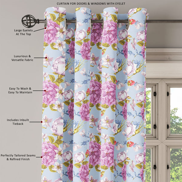 ArtzFolio Floral Roses Door, Window & Room Curtain-Room Curtains-AZ5007625CUR_RM_RF_R-SP-Image Code 5007625 Vishnu Image Folio Pvt Ltd, IC 5007625, ArtzFolio, Room Curtains, Floral, Digital Art, roses, door, window, room, curtain, eyelets, tie, back, silk, fabric, width, 3feet, (36inch), seamless, vintage, background, room curtain, valance curtain, bedroom drapes, drapes valance, wall curtain, office curtain, grommet curtain, kitchen curtain, pitaara box, window curtain, blackout drape, grommet drapes, wind