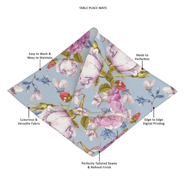 ArtzFolio Floral Roses Table Mat Placemat-Table Place Mats Fabric-AZKIT38069734MAT_TB_L-Image Code 5007625 Vishnu Image Folio Pvt Ltd, IC 5007625, ArtzFolio, Table Place Mats Fabric, Floral, Digital Art, roses, table, mat, placemat, canvas, fabric, seamless, vintage, background, placemats, large table mats, dinner mats, best placemats, dinner table placemats, table mats, dining placemats, dining mats, extra large placemats, cute placemats, table placemats, contemporary table mats, placement mats, large tabl