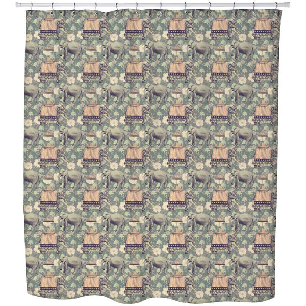 ArtzFolio Indian Elephants D3 Washable Waterproof Shower Curtain-Shower Curtains-AZHFR38251529CUR_SH_L-Image Code 5007630 Vishnu Image Folio Pvt Ltd, IC 5007630, ArtzFolio, Shower Curtains, Animals, Traditional, Digital Art, indian, elephants, d3, washable, waterproof, shower, curtain, eyelets, vintage, style, seamless, pattern, hand, drawn, vector, shower curtain, designer shower curtain, clear shower curtain, washable shower curtain, bathroom curtain, shower curtain 6feet, printed shower curtain, unisex s