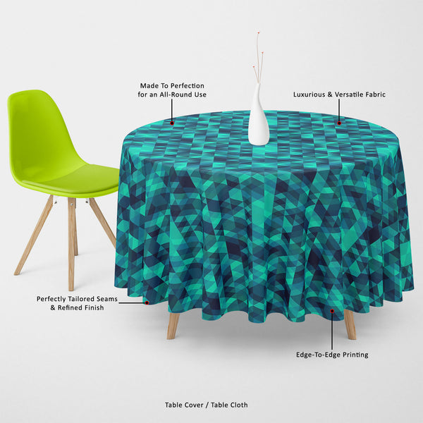 ArtzFolio Creative Triangles D2 Table Cloth Cover-Table Covers-AZ5007636CVR_TB_RF_R-SP-Image Code 5007636 Vishnu Image Folio Pvt Ltd, IC 5007636, ArtzFolio, Table Covers, Abstract, Digital Art, creative, triangles, d2, table, cloth, cover, canvas, fabric, seamless, pattern, table cover, center table cover, teapoy cover, checkered tablecloth, restaurant tablecloth, tablecloth, dining table cover 6 seater, linen tablecloth, fitted tablecloths, velvet tablecloth, dining table cover, dining table cover plastic,