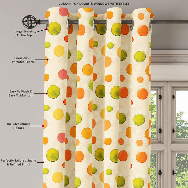 ArtzFolio Watercolor Dots D1 Door, Window & Room Curtain-Room Curtains-AZ5007639CUR_RM_RF_R-SP-Image Code 5007639 Vishnu Image Folio Pvt Ltd, IC 5007639, ArtzFolio, Room Curtains, Abstract, Digital Art, watercolor, dots, d1, door, window, room, curtain, eyelets, tie, back, silk, fabric, width, 3feet, (36inch), seamless, pattern, perfect, curtains, wallpaper, web, page, surface, textures, childrens, clothes, room curtain, valance curtain, bedroom drapes, drapes valance, wall curtain, office curtain, grommet