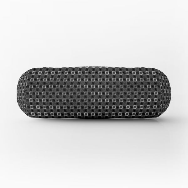 ArtzFolio Monochrome Square Bolster Cover Booster Cases | Concealed Zipper Opening-Bolster Covers-AZ5007658PIL_CV_RF_R-SP-Image Code 5007658 Vishnu Image Folio Pvt Ltd, IC 5007658, ArtzFolio, Bolster Covers, Abstract, Digital Art, monochrome, square, bolster, cover, booster, cases, concealed, zipper, opening, silk, fabric, design, seamless, geometric, pattern, bolster case, bolster cover size, diwan round pillow, long round pillow covers, small bolster cushion covers, bolster cover, drawstring bolster pillo