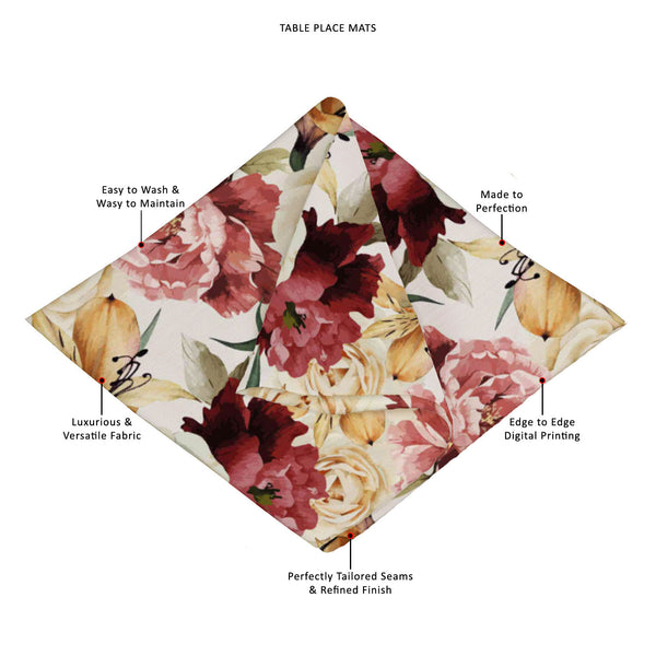 ArtzFolio Roses D2 Table Mat Placemat-Table Place Mats Fabric-AZKIT42138591MAT_TB_L-Image Code 5007667 Vishnu Image Folio Pvt Ltd, IC 5007667, ArtzFolio, Table Place Mats Fabric, Floral, Digital Art, roses, d2, table, mat, placemat, canvas, fabric, seamless, pattern, watercolor, vector, illustration, placemats, large table mats, dinner mats, best placemats, dinner table placemats, table mats, dining placemats, dining mats, extra large placemats, cute placemats, table placemats, contemporary table mats, plac