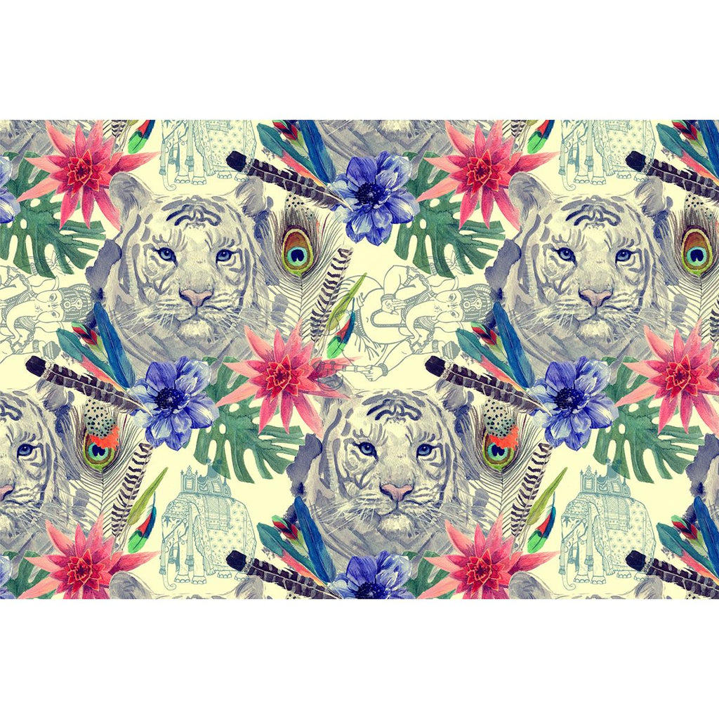 ArtzFolio Tiger Head D3 Art & Craft Gift Wrapping Paper-Wrapping Papers-AZSAO43002336WRP_L-Image Code 5007674 Vishnu Image Folio Pvt Ltd, IC 5007674, ArtzFolio, Wrapping Papers, Animals, Traditional, Digital Art, tiger, head, d3, art, craft, gift, wrapping, paper, vintage, indian, style, pattern, hand, drawn, watercolor, illustration, wrapping paper, pretty wrapping paper, cute wrapping paper, packing paper, gift wrapping paper, bulk wrapping paper, best wrapping paper, funny wrapping paper, bulk gift wrap,