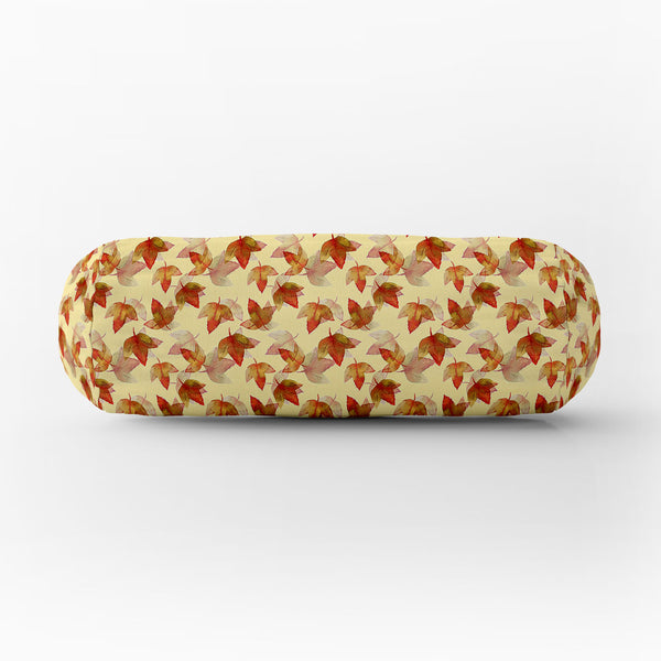 ArtzFolio Autumn Leaves D3 Bolster Cover Booster Cases | Concealed Zipper Opening-Bolster Covers-AZ5007681PIL_CV_RF_R-SP-Image Code 5007681 Vishnu Image Folio Pvt Ltd, IC 5007681, ArtzFolio, Bolster Covers, Floral, Digital Art, autumn, leaves, d3, bolster, cover, booster, cases, concealed, zipper, opening, poly, cotton, fabric, watercolor, background, seamless, pattern, 7, bolster case, bolster cover size, diwan round pillow, long round pillow covers, small bolster cushion covers, bolster cover, drawstring