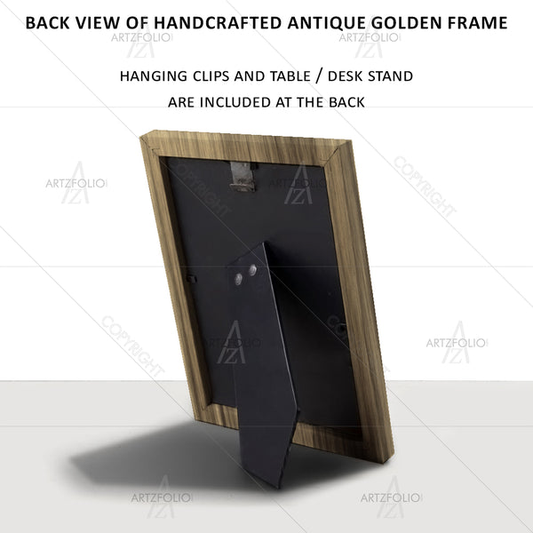 ArtzFolio Replica Of Famous Artwork Made By Salvador Dali D1 Paper Poster Frame | Top Acrylic Glass-Paper Posters Framed-AZART22878555POS_FR_L-Image Code 5002835 Vishnu Image Folio Pvt Ltd, IC 5002835, ArtzFolio, Paper Posters Framed, Surrealism, Fine Art Reprint, replica, of, famous, artwork, made, by, salvador, dali, d1, paper, poster, antique, golden, frame, top, acrylic, glass, oil, painting, illustrating, art, artistic, beauty, brush-stroke, canvas, colorful, colors, concept, creative, death, decorativ