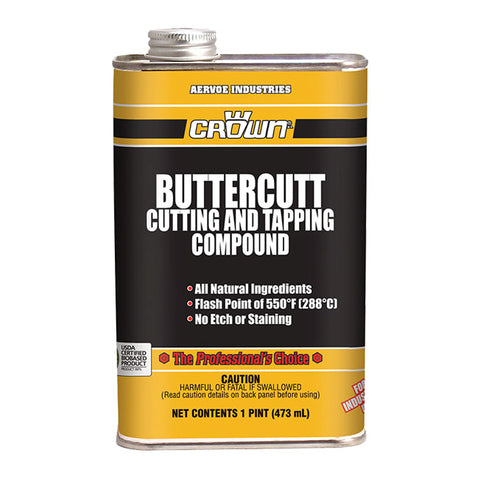 CROWN BUTTERCUT CUTTING & TAPPING COMPOUND 1 PINT