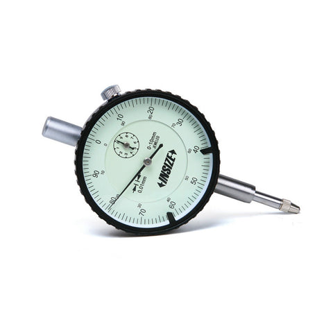 INSIZE DIAL INDICATOR WITH LUG BACK 10mm x .01mm