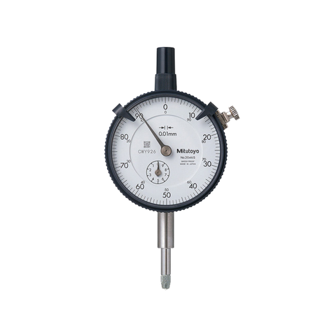 MITUTOYO DIAL INDICATOR 0-10mm x .01mm