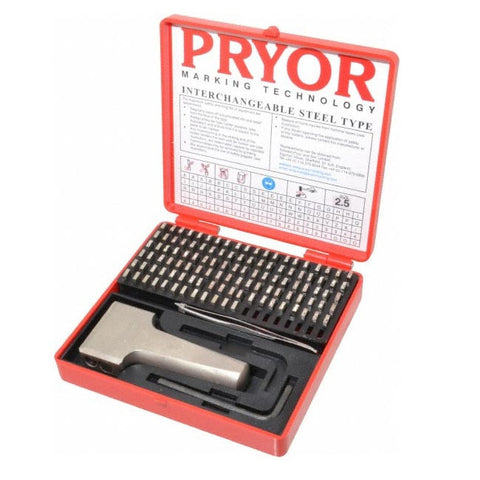PRYOR STEEL TYPE FOUNT SET 1.5mm