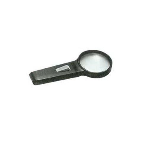 HAND HELD ILLUMINATED MAGNIFIER 2X