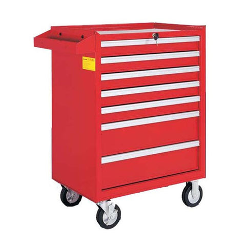 TOOL CHEST 7 x DRAWER RED ROLL CABINET