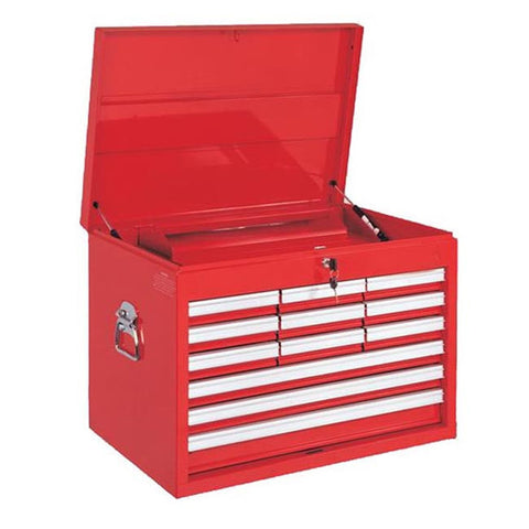 TOOL CHEST 12 x DRAWER RED